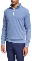 Peter Millar Crown Sport Perth Glen Plaid Quarter-Zip Pullover