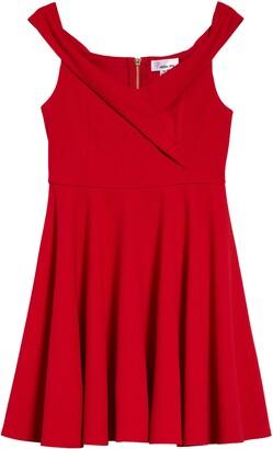 Love, Nickie Lew Kids' Off the Shoulder Dress