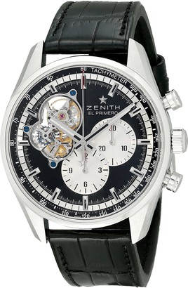 Zenith Men's 0320424061.21C El Primero Chronomaster 1969 Analog Display Swiss Automatic Black Watch