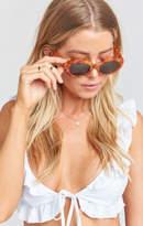 MUMU Crap Eyewear ~ The Love Tempo Sunglasses ~ Gloss Havana Tortoise