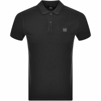 BOSS Prime Short Sleeved Polo T Shirt Black