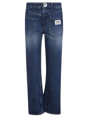 Burberry Flared Leg Long Jeans