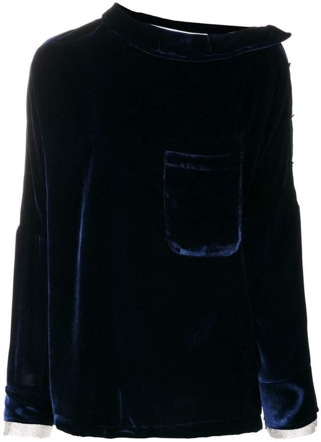 Aviu chest pocket blouse