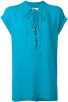 MICHAEL Michael Kors neck-tie blouse