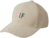 Pompom Muffler+mif Logo Corduroy Cap