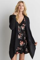 American Eagle Outfitters AE Waterfall Pointelle Cardigan