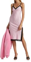 Thumbnail for your product : alexanderwang.t Lace Trim Midi Dress