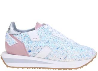 Ghoud Rush In Glitter Sneakers
