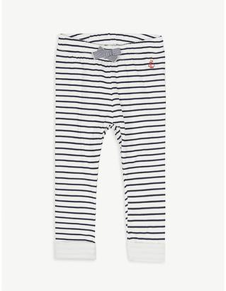 Petit Bateau Stripe cotton leggings 6-36 months