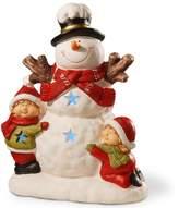 National Tree Company 17-in. Light-Up Snowman & Children Floor Christmas Decor