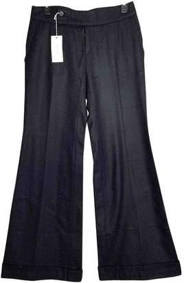 Luella Black Wool Trousers for Women Vintage