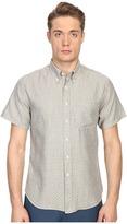 Billy Reid Short Sleeve Tuscumbia Shirt Men's Short Sleeve Button Up