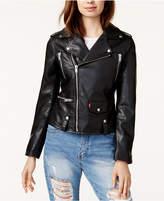 Levi's Faux-Leather Moto Jacket