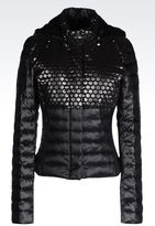 Armani Jeans Down Jacket In Technical Fabric