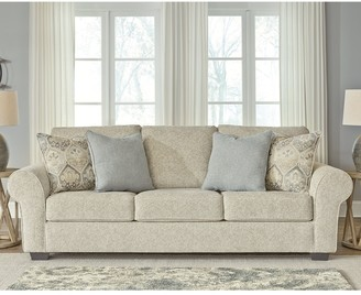 "Signature Design by Ashley Haisley Ivory Sofa - 102""W x 41""D x 40""H"
