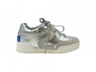 Stella McCartney Stella Mc Cartney Silver Patent leather Trainers