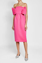DELPOZO Sleeveless Dress with Bow