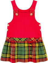 Junior Gaultier Dungaree dress