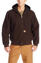 Carhartt Men's Big & Tall Quilted Flannel-Lined Sandstone Active Jacket J130