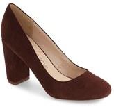Sole Society Women's Giselle Block Heel Pump