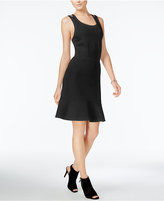 Bar III Crisscross Fit & Flare Dress, Only at Macy's