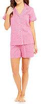 Lauren Ralph Lauren Striped Lawn Pajamas