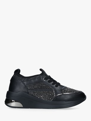 Carvela Jetson Jewel Trainers, Black