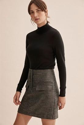 Country Road Pocket Detail Mini Skirt