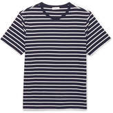 Sandro Striped Pima Cotton-Jersey T-Shirt