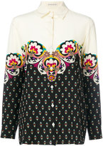 Etro printed shirt - women - Silk - 38