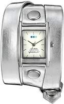 La Mer WANDER LUST 00001 0.5mm Leather Synthetic Silver Watch Bracelet