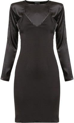 Ann Demeulemeester Bleary fitted dress