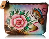 Anuschka 1031-Hand Painted Leather-Coin Pouch