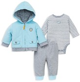 Little Me Infant Boys' Corduroy Jacket Three Piece Set - Sizes 3-12 Months