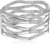 T Tahari Wave Bangle Cuff Bracelet