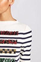 Marc Jacobs Crystal Encrusted Stud Earrings