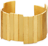 Stephanie Kantis Golden Plank Cuff Bracelet