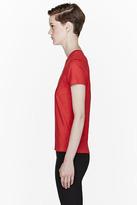 Kenzo Red Tiger Print T-Shirt