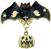 Shein Halloween Funny Bat Pumpkin Brooch
