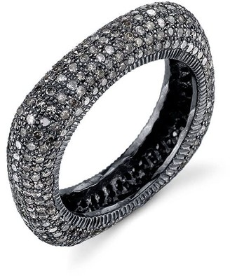 Sheryl Lowe Pave Diamond Square Stack Ring