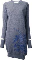 Stella McCartney embroidered sweater dress