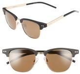 Polaroid Women's 51Mm Polarized Cat Eye Sunglasses - Matte Black/ Gold