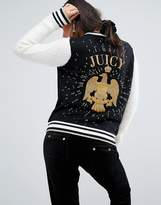 Juicy Couture Varsity Jacket With Eagle