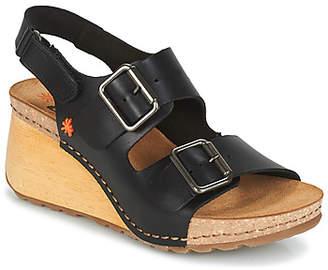 Art BORNE women's Sandals in Black