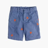 J.Crew Boys' Stanton critter short in lobsters