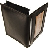 AG Jeans A&G Wallets Leather Expandable Credit Card Outside ID Business Card Holder Wallet