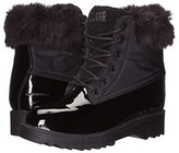 Cougar Gatineau-PL Waterproof (Black Patent Leather/Nylon) Women's Lace-up Boots