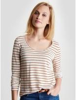 CYRILLUS T-shirt femme lin rayé