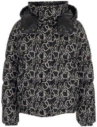 Moncler Daos Graphic Print Down Jacket