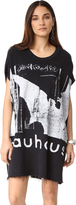 R 13 Bauhaus Sleeveless Terry Dress